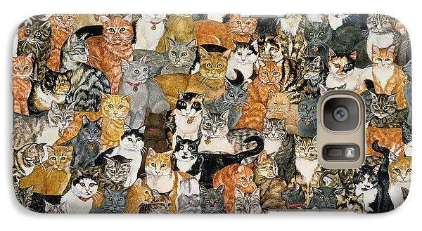 Double Cat Spread Galaxy S7 Case