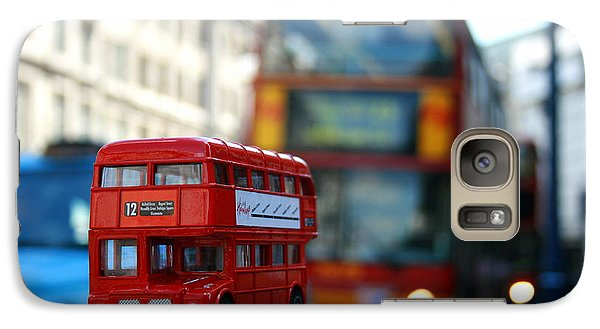 Double Deckers At Piccadilly Circus  Galaxy S7 Case