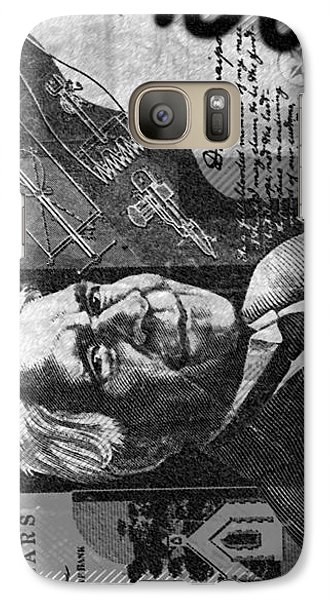 Galaxy Case featuring the photograph Double Or 50 by Sladjana Lazarevic