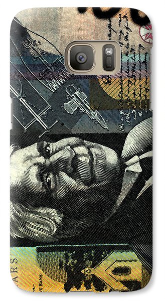 Galaxy Case featuring the photograph Double Or Nothing by Sladjana Lazarevic