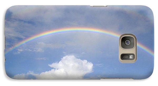 Double Rainbow At Sea Galaxy S7 Case
