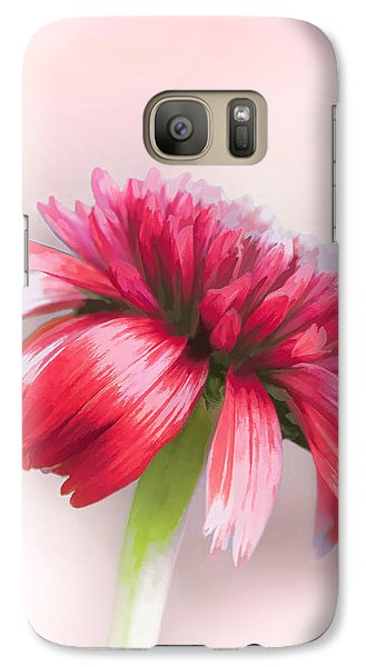 Galaxy Case featuring the photograph Double Scoop Delight - Orangeberry Coneflower by Gary Smith