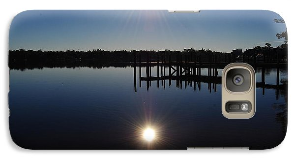Galaxy Case featuring the photograph Double Sun by Michele Kaiser