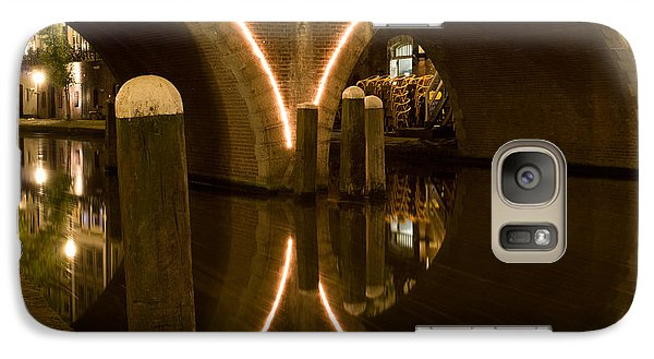 Galaxy Case featuring the photograph Double Tunnel by John Wadleigh