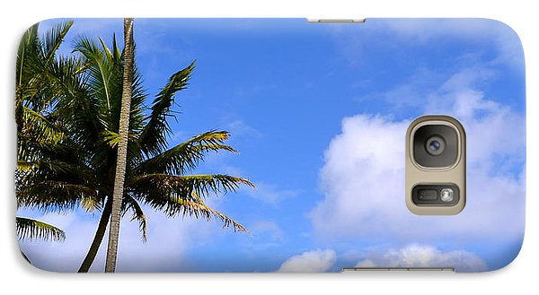 Galaxy Case featuring the photograph Down By The Ocean In Hawaii by Lehua Pekelo-Stearns