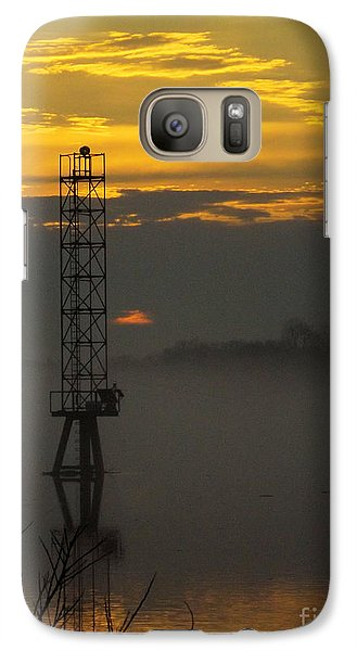 Galaxy Case featuring the photograph Down By The River by Robyn King