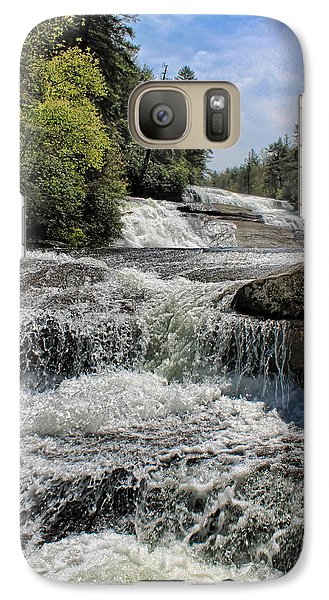 Galaxy Case featuring the photograph Down Stepping by David Stine