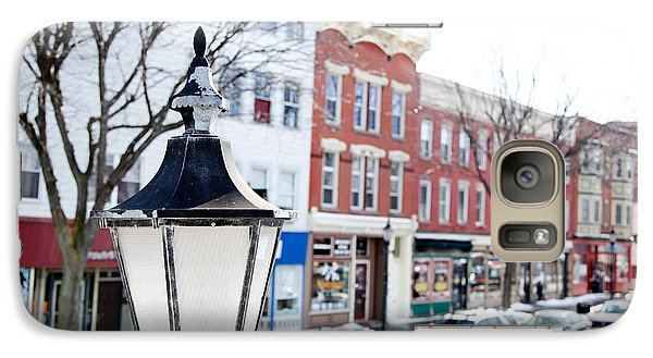 Galaxy Case featuring the photograph Downtown Brockport I by Courtney Webster