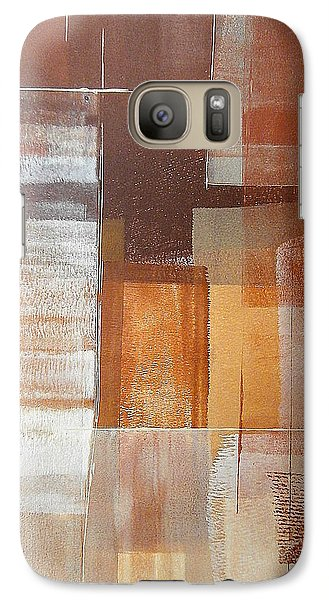 Galaxy Case featuring the painting Downtown by Buck Buchheister