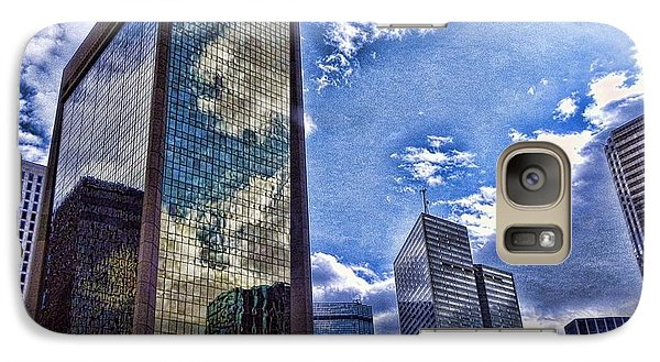 Galaxy Case featuring the photograph Downtown Dallas by Kathy Churchman