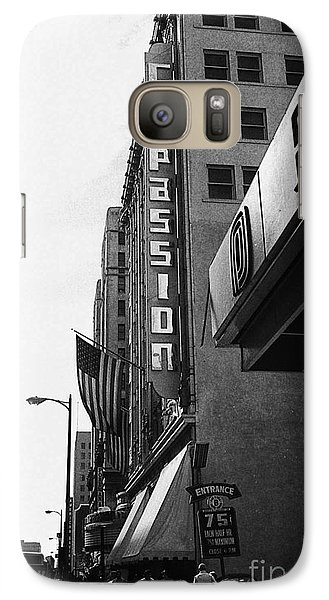 Galaxy Case featuring the photograph Downtown La - Mid '70's by Doc Braham