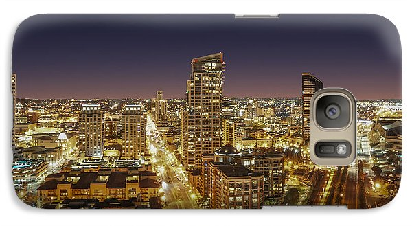 Galaxy Case featuring the photograph Downtown San Diego by Alex Weinstein