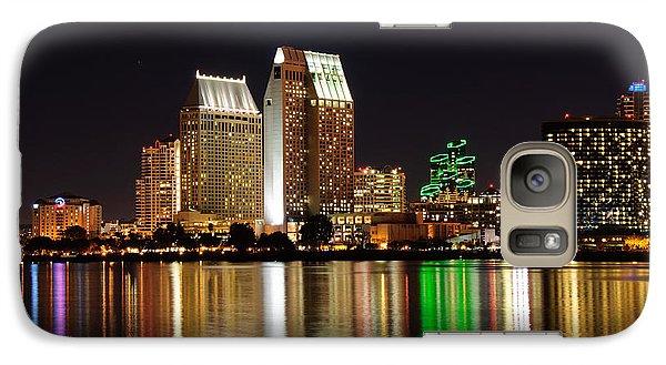 Galaxy Case featuring the digital art Downtown San Diego by Gandz Photography