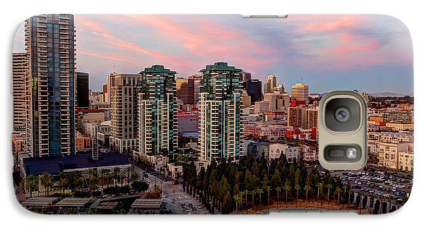 Galaxy Case featuring the photograph Downtown View San Diego by Heidi Smith