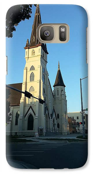 Galaxy Case featuring the photograph Downtown Worship by Caryl J Bohn