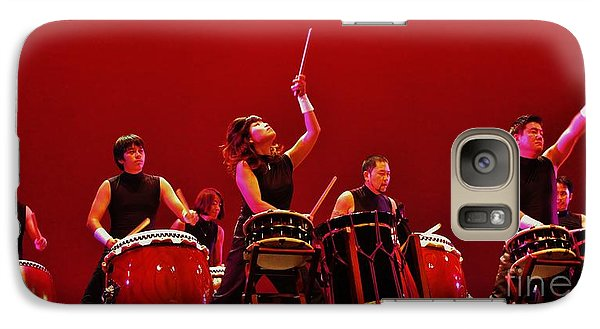 Galaxy Case featuring the photograph Dragon Beat Taiko by Craig Wood