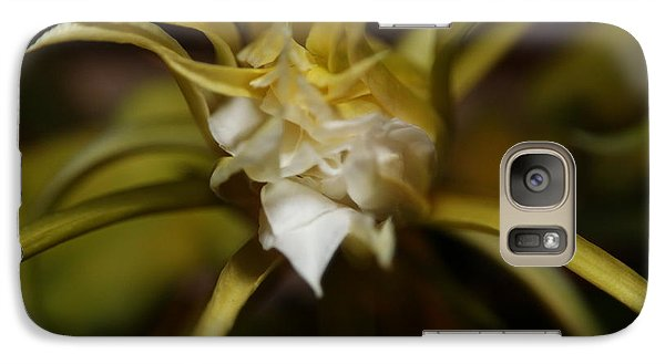 Galaxy Case featuring the photograph Dragon Flower by David Millenheft