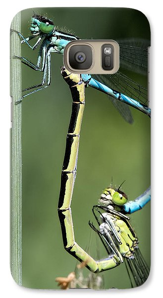 Galaxy Case featuring the photograph Dragon Fly by Leif Sohlman