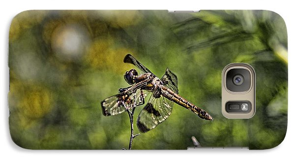 Galaxy Case featuring the photograph Dragonfly by Daniel Sheldon