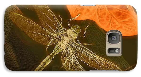Galaxy Case featuring the painting Dragonfly by Douglas MooreZart