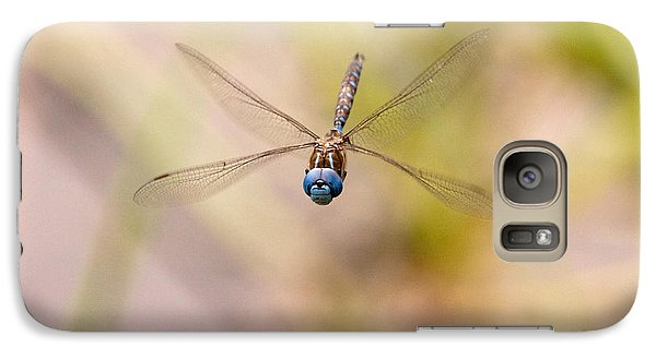 Galaxy Case featuring the photograph Dragonfly In Flight by Peggy Collins