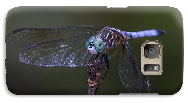 Galaxy Case featuring the photograph Dragonfly by Paula Porterfield-Izzo
