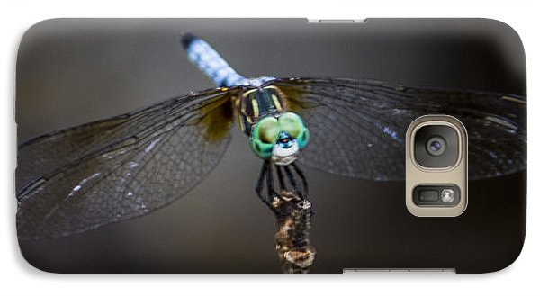 Galaxy Case featuring the photograph Dragonfly Wings by Paula Porterfield-Izzo