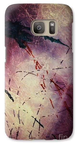 Galaxy Case featuring the painting Dragons In The Mist by Stuart Engel