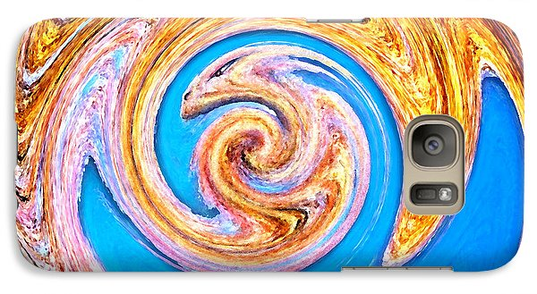 Galaxy Case featuring the digital art Dragon's Lair by Cristophers Dream Artistry