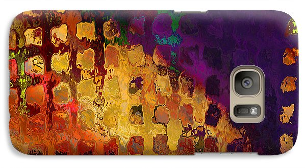 Galaxy Case featuring the digital art Dragon's Teeth Fire Grate by Constance Krejci