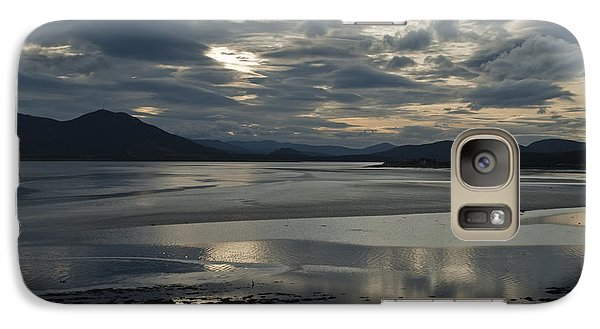 Galaxy Case featuring the photograph Drama Dornoch Firth by Sally Ross