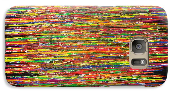 Galaxy Case featuring the painting Drama by Jacqueline Athmann