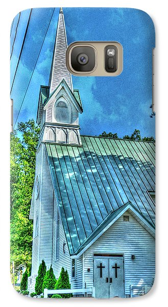 Galaxy Case featuring the photograph Drama by MJ Olsen