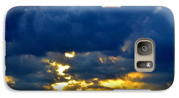 Galaxy Case featuring the photograph Dramatic Clouds by Luther Fine Art