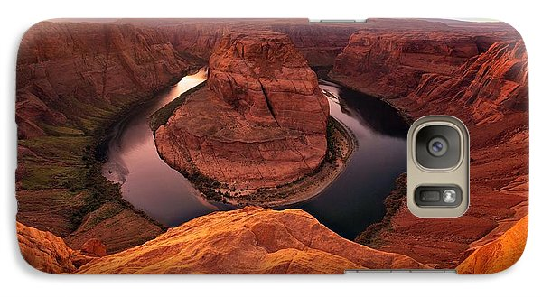 Galaxy Case featuring the photograph Dramatic River Bend by David Andersen