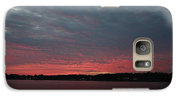 Galaxy Case featuring the photograph Dramatic Sunset by Ellen O'Reilly