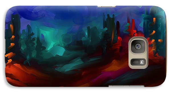 Galaxy Case featuring the painting Dream All Your Dreams by Steven Lebron Langston