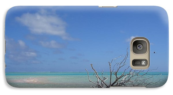 Galaxy Case featuring the photograph Dream Atoll  by Jola Martysz