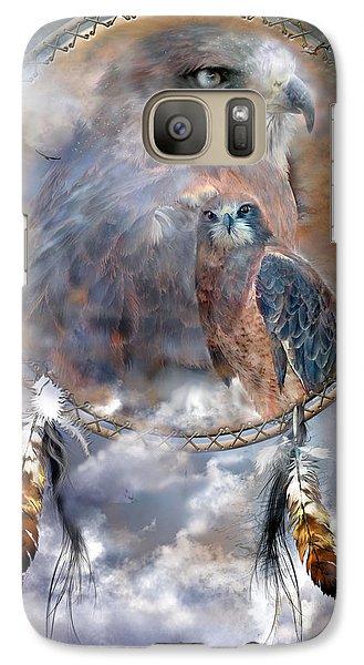 Dream Catcher - Hawk Spirit Galaxy S7 Case