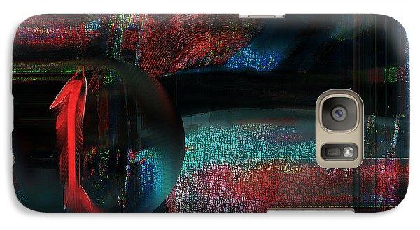 Galaxy Case featuring the digital art Dream Catcher by Yul Olaivar