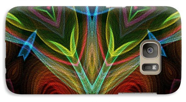 Galaxy Case featuring the digital art I Dream Flowers by Owlspook