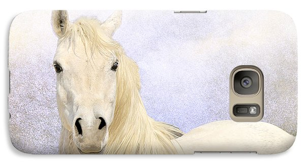Galaxy Case featuring the photograph Dream Horse by Karen Slagle