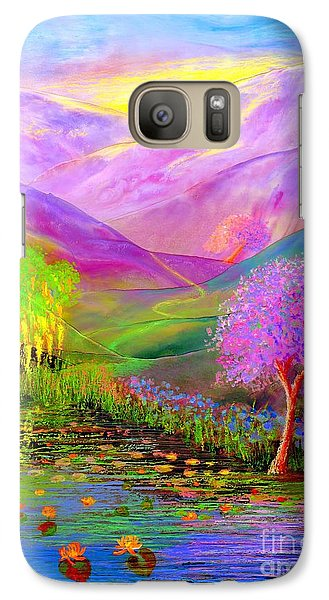 Dream Lake Galaxy S7 Case by Jane Small