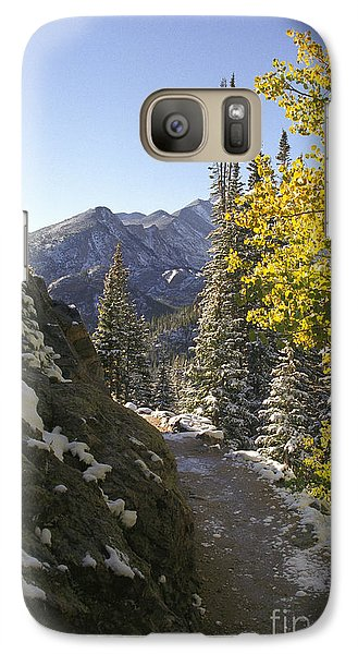 Galaxy Case featuring the photograph Dream Lake Sunrise by Arthaven Studios