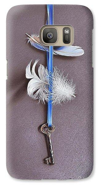 Galaxy Case featuring the drawing Dream Locker by Elena Kolotusha