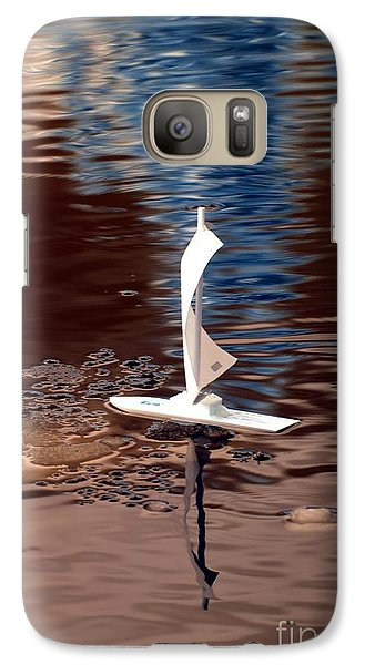 Galaxy Case featuring the photograph Dream Of Sailing by Rebecca Parker