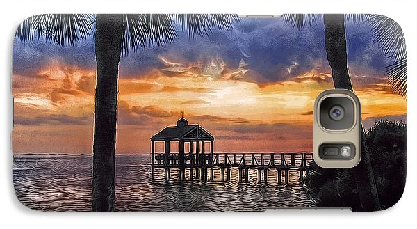Galaxy Case featuring the photograph Dream Pier by Hanny Heim
