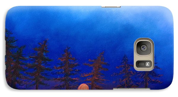 Galaxy Case featuring the painting Dreaming by Karin Eisermann