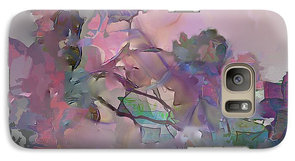 Galaxy Case featuring the digital art Dreaming Of A Rose Garden by Ursula Freer