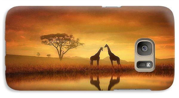 Dreaming Of Africa Galaxy Case by Jennifer Woodward